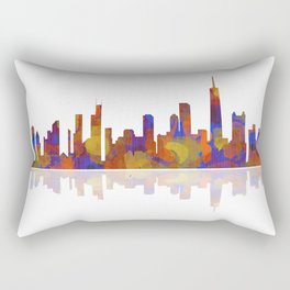 Chicago, Illinois Skyline 2 Rectangular Pillow