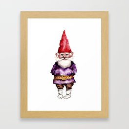 Alfred the Gnome Framed Art Print