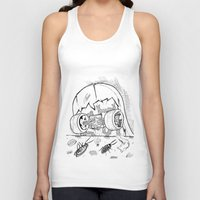"skate Tank Tops featuring ""Skate"" by Jorge Daszkal"