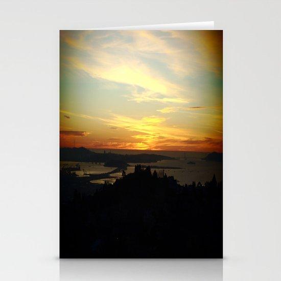 San Francisco, California Stationery Cards
