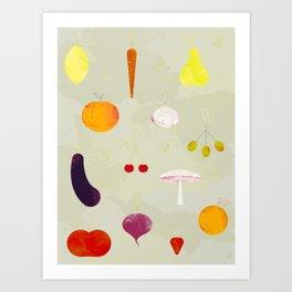 Fruit Medley Art Print