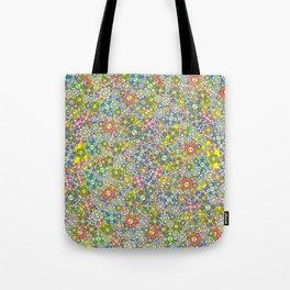 SUPER FLOWER POWER Tote Bag