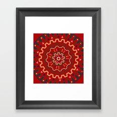 wayuu pattern Framed Art Print