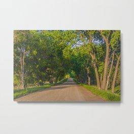 Country Road, North Dakota 7 Metal Print