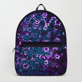 Purple Gnarly Mess Backpack
