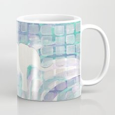 ELEPHANT - Teal and Purple Iridescent Mug