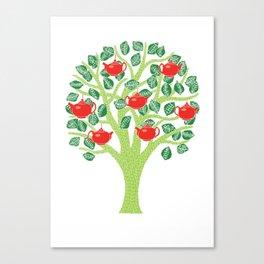 The Tea Tree (Green) Canvas Print