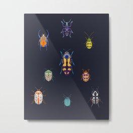 Beautiful bugs Metal Print