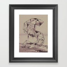 cosmico fantastico Framed Art Print