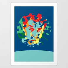 Moon (2009) Art Print