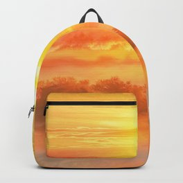 Sunset before Backpack