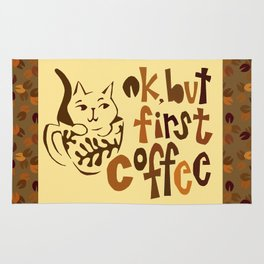 ok, but first coffee ... Rug