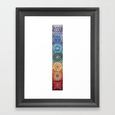 Chakras  Framed Art Print