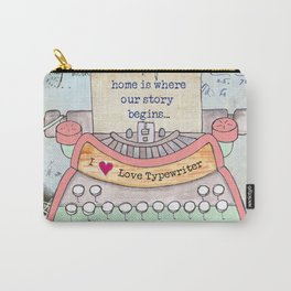 Typewriter #7 Carry-All Pouch