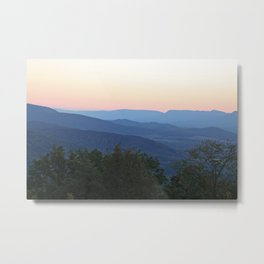 Mountain Blues Metal Print