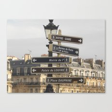 Paris Adventure  Canvas Print