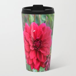 Blooming Red Travel Mug