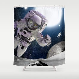 CAT INVASION Shower Curtain
