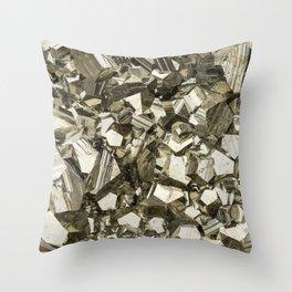 Pyrite Throw Pillow