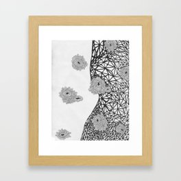 Sea of Bacteria  Framed Art Print