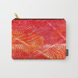 Firery Swirling Carry-All Pouch