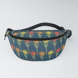 Pincushion Protea Flowers Fanny Pack