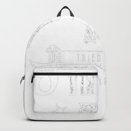 70th-Birthday-Gift---A-True-Classic-Vintage Backpack