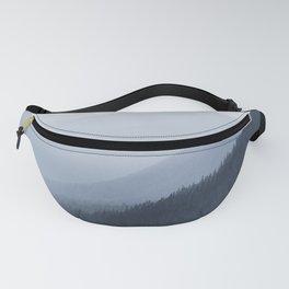 Blue Mountain Fog Fanny Pack