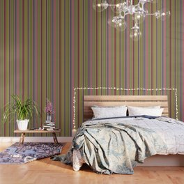 Colorful Stripes Barcode 1 Wallpaper