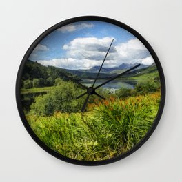 Snowdon View Wall Clock