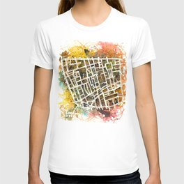Soho London Map T-shirt
