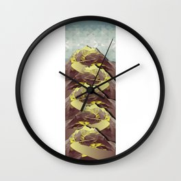 The Great, Great Night Mountain No. 4 Wall Clock