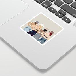 Jean Gals Sticker