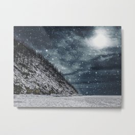The Winter Storm Metal Print