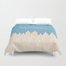 San Francisco TA Duvet Cover
