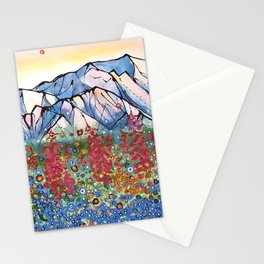 Denali Alpenglow Stationery Cards