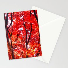 Crimson Forest Stationery Cards
