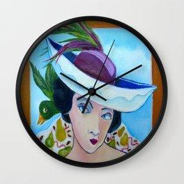 Boat Fascinator Wall Clock