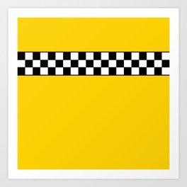 NY Taxi Cab Cosplay Art Print