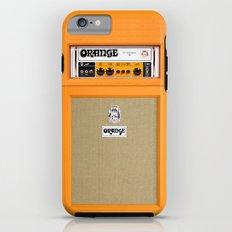 Retro Orange guitar electric amp amplifier iPhone 4 4s 5 5s 5c, ipad, tshirt, mugs and pillow case iPhone 6 Tough Case