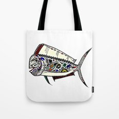Mahi Mahi color Tote Bag
