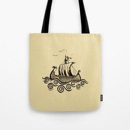 Viking ship 2 Tote Bag