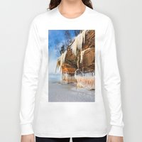 frozen Long Sleeve T-shirts featuring Frozen by Jonah Anderson