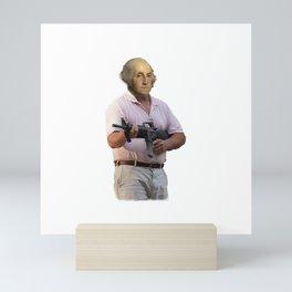 Cul De Sac Commando George Washington Mini Art Print