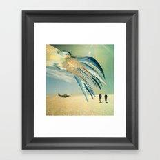 The Mantle Framed Art Print