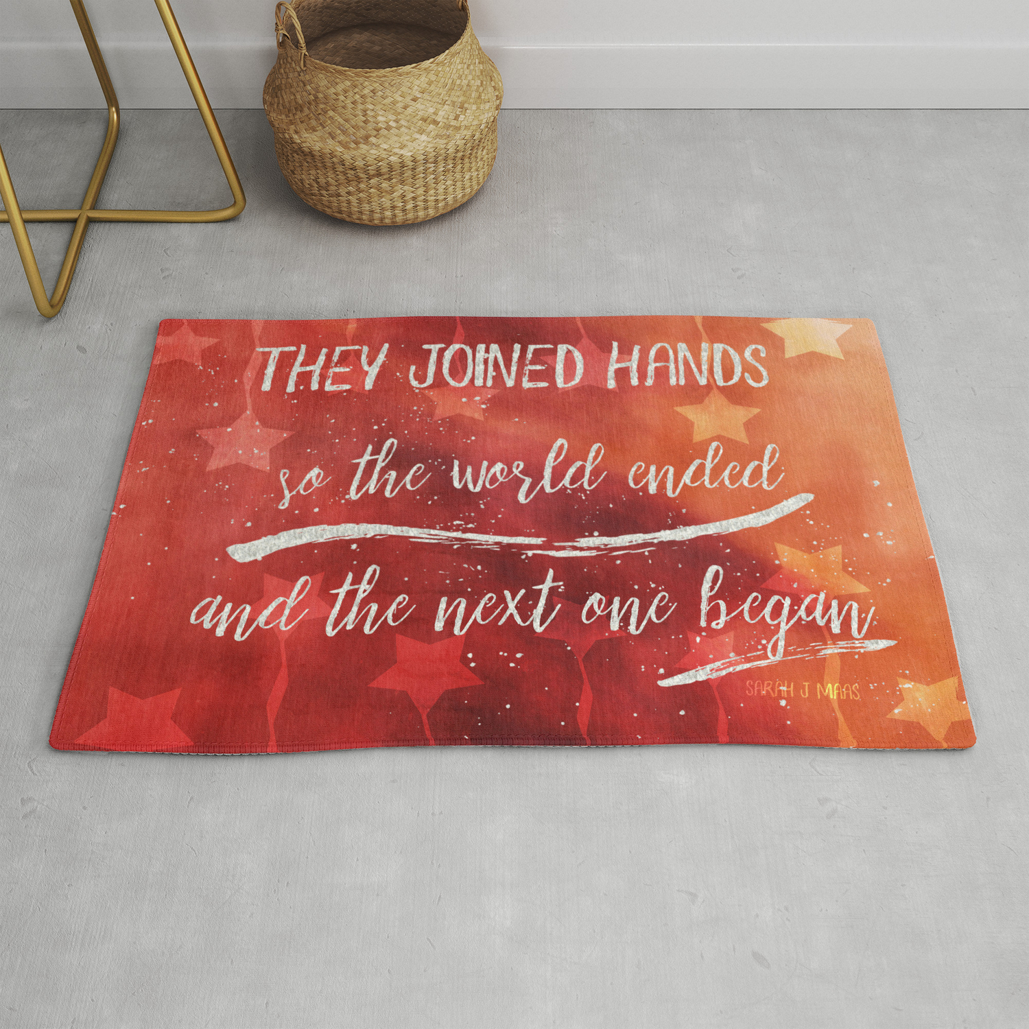 The Next World Rug By Oliviascotton