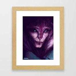 Jaal Ama Darav Mass Effect Andromeda Framed Art Print