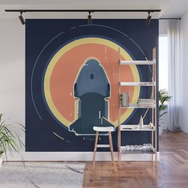 Human space exploration Wall Mural