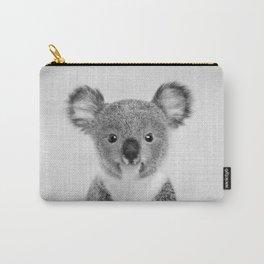 Baby Koala - Black & White Carry-All Pouch