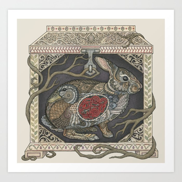 The Phylactery of Koschei the Deathless Art Print